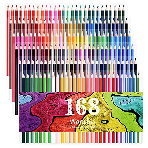 168 Colored Pencils Fluorescence Duplicates product image