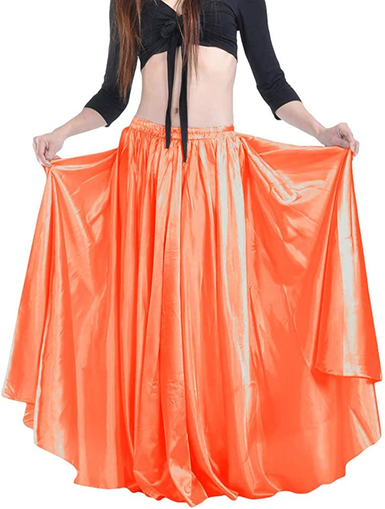 Yying Falda de Danza del Vientre de Gasa para Mujer Traje de Danza ...