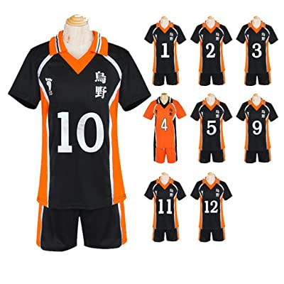 Mister Bear Haikyuu!! Karasuno High School Tobio Kageyama Shouyou Hinata Cosplay Costume: Clothing
