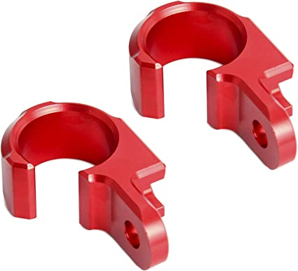 Color : Red NO LOGO 2pcs Front Rear Brake Line Hose Clamp Holder Fits For Honda CRF250L//M CRF250L CRF250M CRF 250L 250M 2012 2013 2014 2015