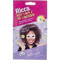 Máscara Facial Relaxante para a Area dos Olhos, Ricca, Branco