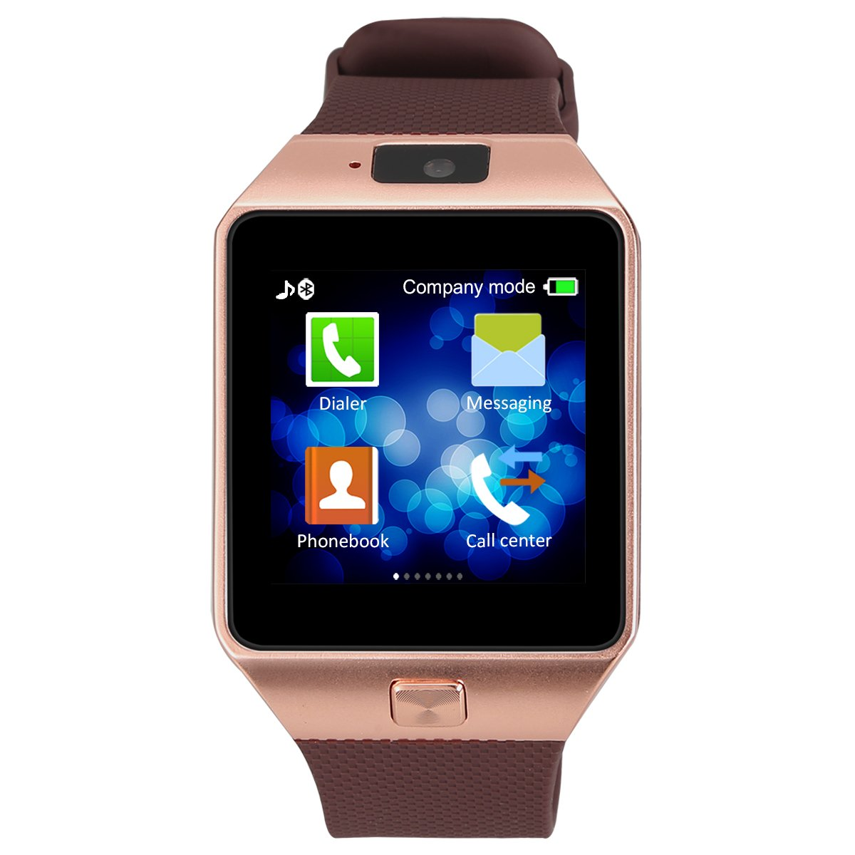 Kivors® DZ09 Bluetooth SmartWatch Montre Connectée Support SIM Card TF Podomètre pour Smartphone Android: Amazon.fr: High-tech