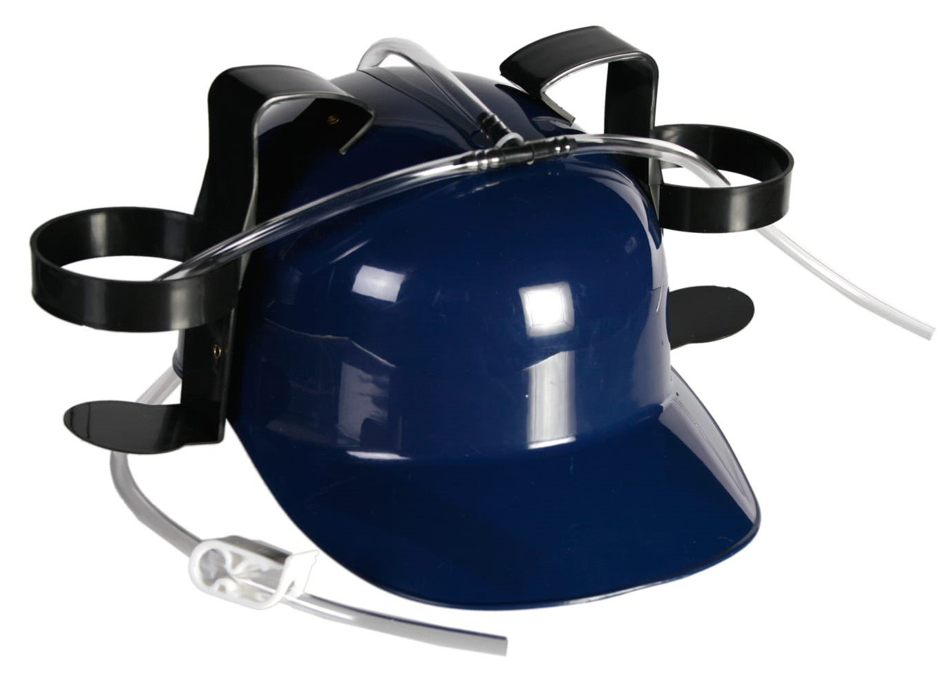 Fun Party Drinking Hat Beer And Soda Guzzler Helmet MAXGOODS Beer and Soda Drinking Helmet Party Hat Party Gags Cap.Colour Blue