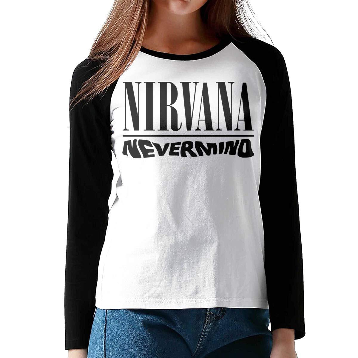 Audarey Rus Nirvan A Nevermino Logo Neck Fashion 2300 Shirts
