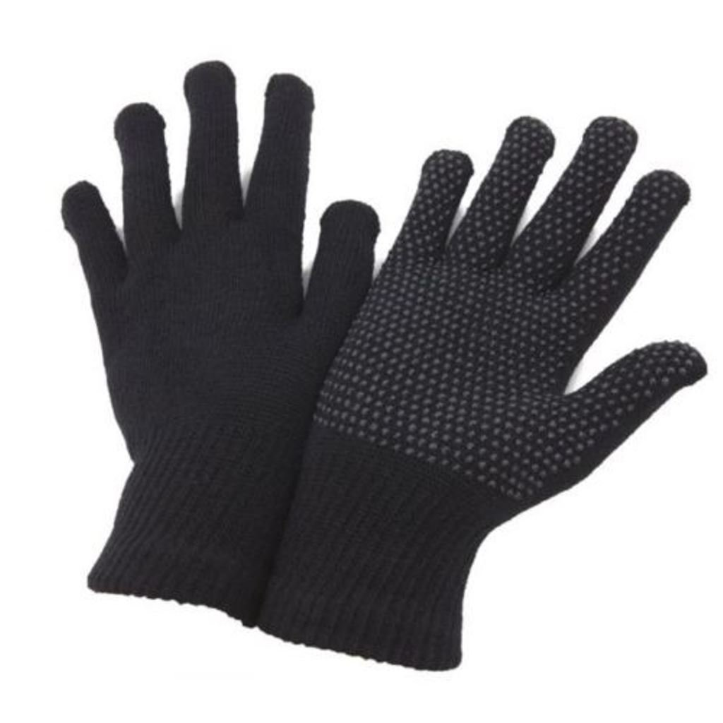 2 Pairs Adult Handy Fingerless or Full Finger Magic Rubber Grip Gripper Driving Gloves From Undercover men or women AKORD AT-18b