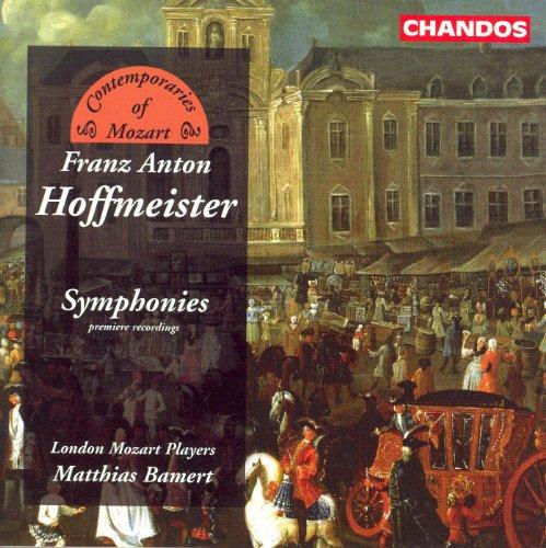 Hoffmeister: Symphonies in G Major / E Major / D - London D&g