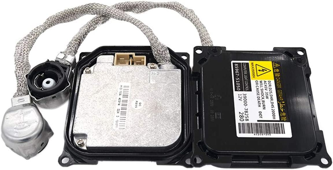 O-NEX Xenon D1S D3S 35W HID Ballast 8K0941597 Factory OEM Direct Replacement Control Unit Module for Audi Volkswagen 2008-2014