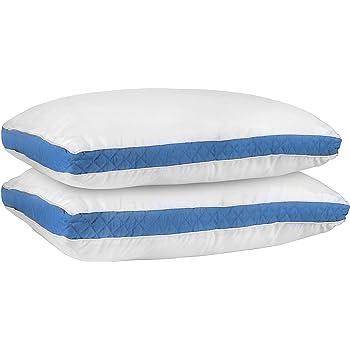 Amazon Com Beckham Hotel Collection Gusset Gel Pillow 2