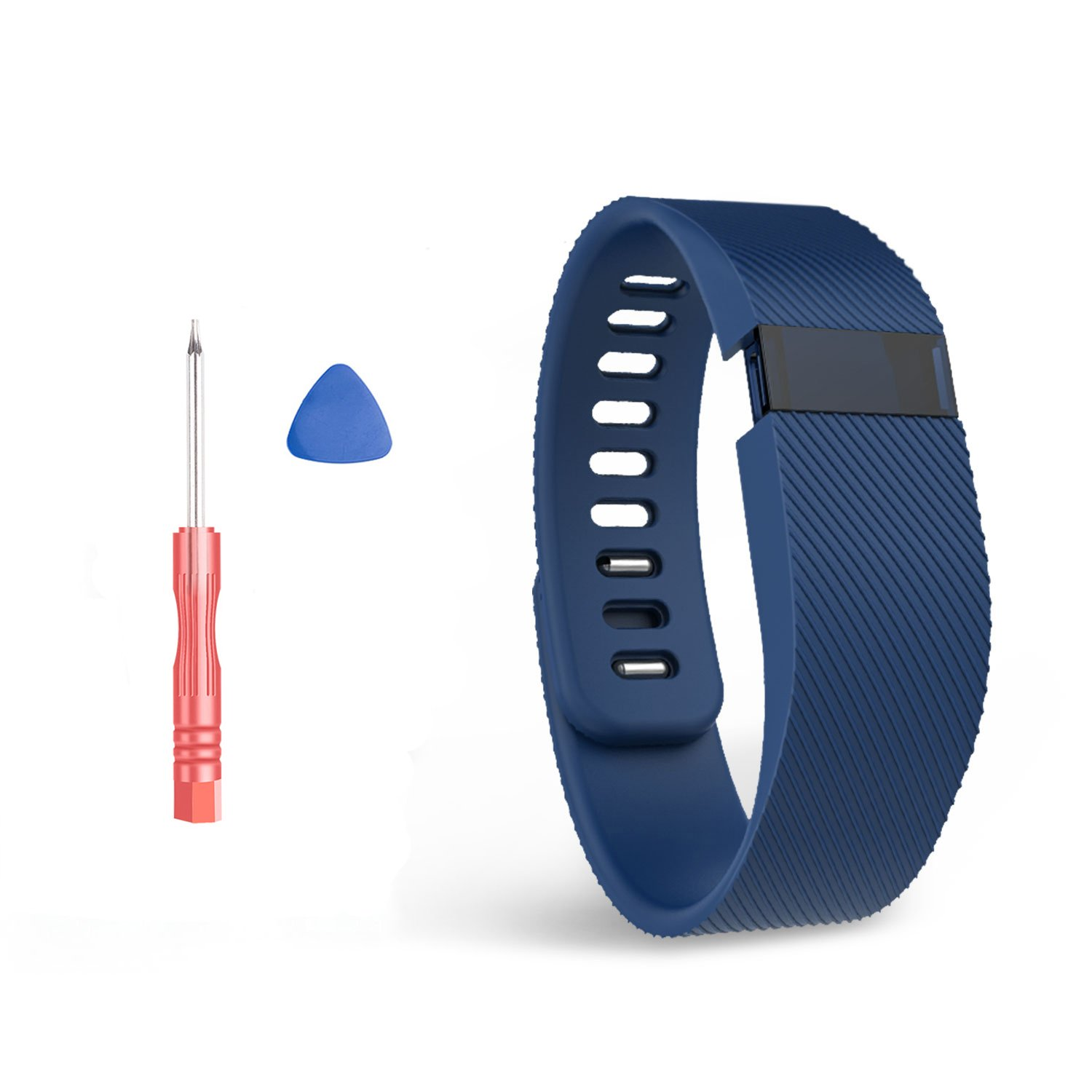 For Fitbit Chargeバンド、topopo交換バンドストラップブレスレットfor Fitbit Charge Small(5.5