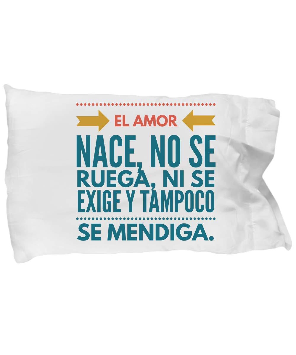 Amazon.com: Funda de almohada El Amor, almohadas ...