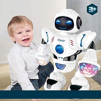 Alt Verano eléctrico Bailar Robot Juguete para niños, RC Robot con ...