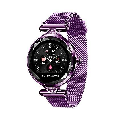 Amazon.com: Sundengyuey H1 - Reloj inteligente para mujer ...