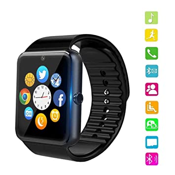 PHIPUDS Smartwatch Reloj Inteligente Smart Watch con Cámara ...