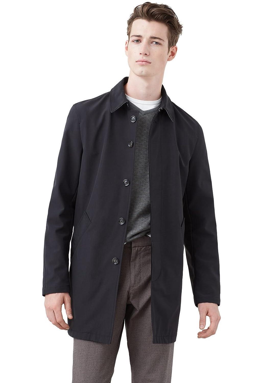 MANGO MAN - Baumwoll-nylon-trenchcoat