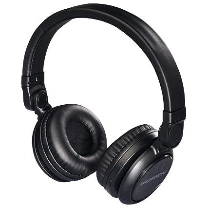 Hama WHP-6007B Diadema Binaural Alámbrico Negro - Auriculares (Alámbrico, Diadema, Binaural