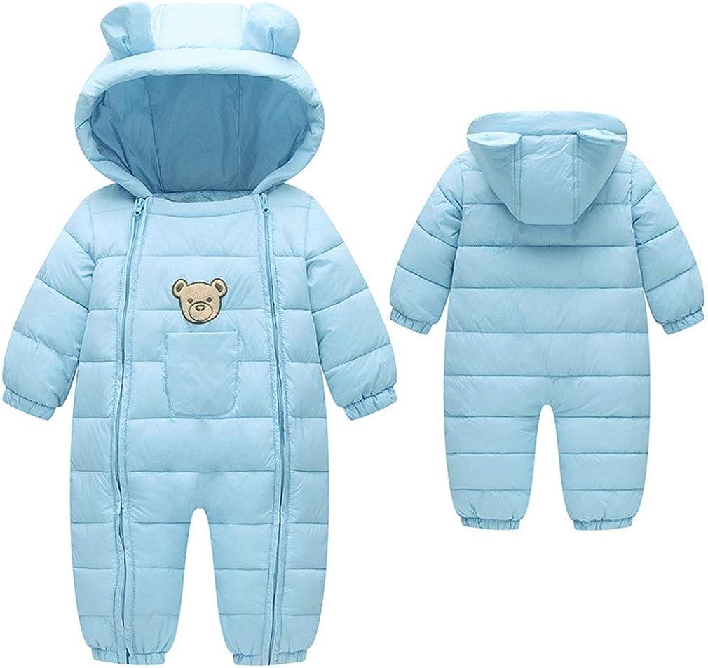 Ohrwurm Infant Toddlers Onesie Down Jacket Baby Cute Zipper Long Sleeve Winter Snowsuit