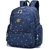 YuHan Baby Diaper Bag Travel Backpack Handbag Large Capacity Fit Stroller Blue