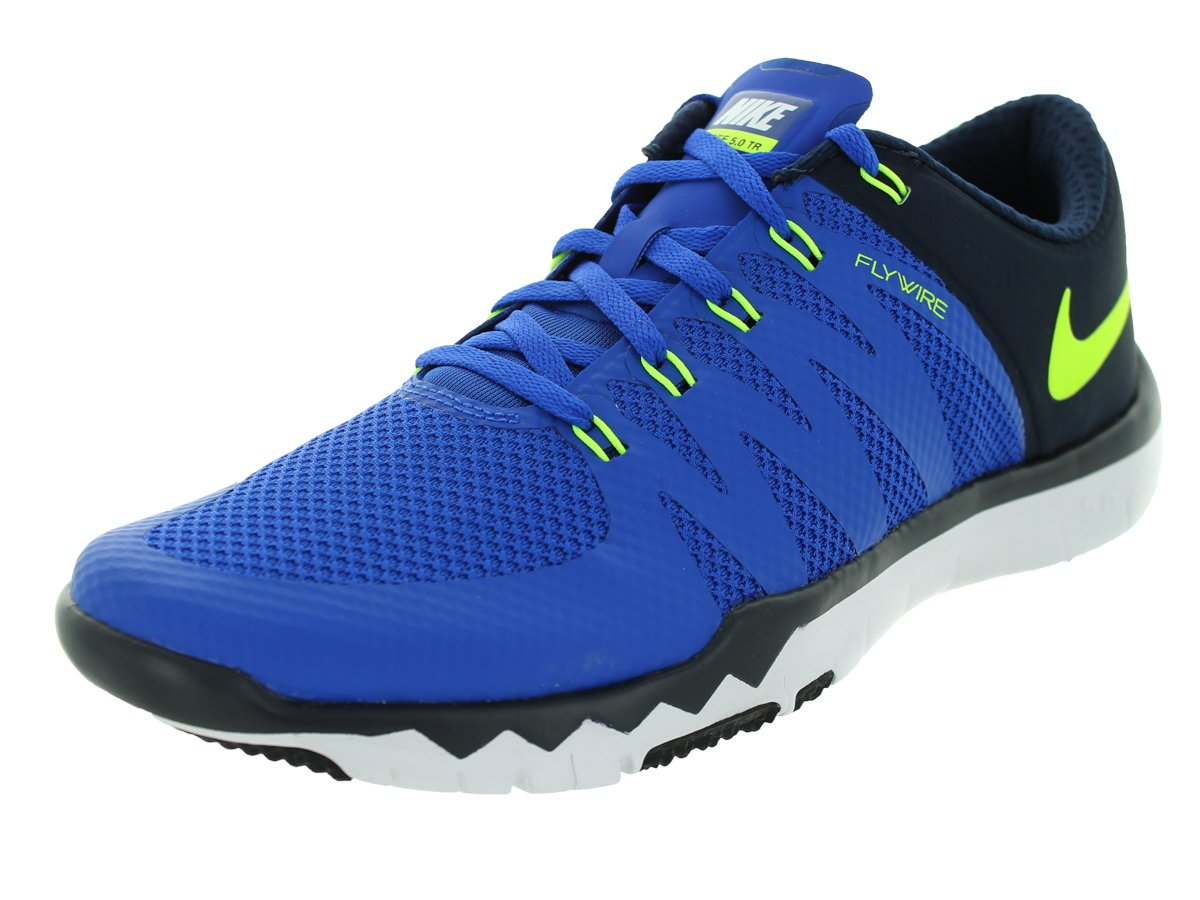 2c8c9791f Galleon - Nike Men s Free Trainer 5.0 V6 Game Royal Vlt Obsdn Dp Ryl bl Running  Shoe 11 Men US