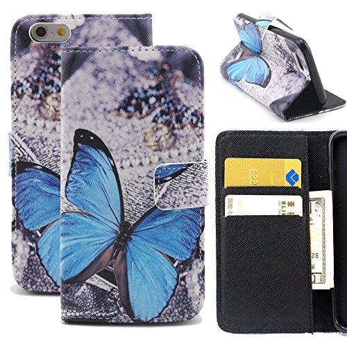 6 Plus Case,iPhone 6 (5.5 inch) Plus cases - Wild Wolf Best Design with Art Series Slim Style Magnetic Flap Closure Stand Card Holder Wallet Folio Flip Cover Cases for iPhone 6s Plus&iPhone 6 Plus