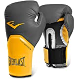 Luva Boxe Elite Pro Style Everlast Cinza - 14 oz.