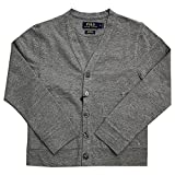 Product review for Boy's Polo Ralph Lauren V Neck Stretch Mesh Cardigan Sweater