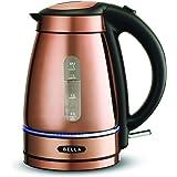 BELLA (14753) 1.7 Liter Electric Tea Kettle Copper Chrome