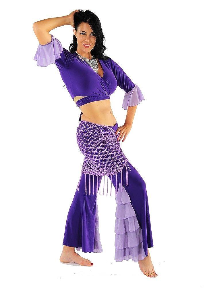 Miss Belly Dance Traje de danza del vientre conjunto harem ...
