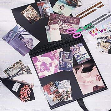 Lvcky Scrapbook, álbum de Fotos de 80 páginas, álbum de Recortes para la Familia