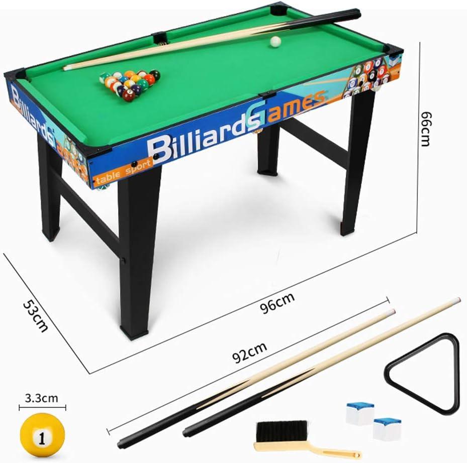 Mesa de Juegos para niños, Billar Mini Table, Billar con Taco de ...