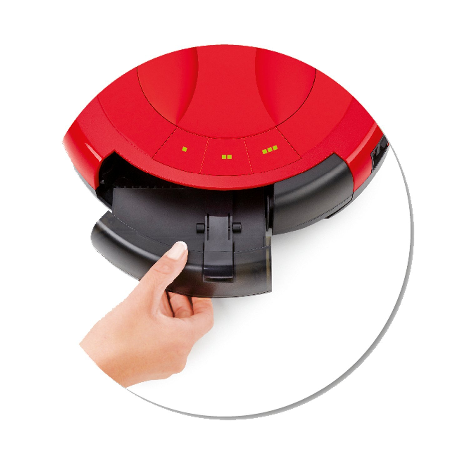 Vileda Relax Cleaning Robot Robotic Vacuum Cleaner (UK Version) by Vileda: Amazon.es: Hogar