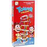Botrong Wobbly Tower Collapse Game Stacking Column Board games Challenge Funny Game Toy As the picture shows As the picture shows