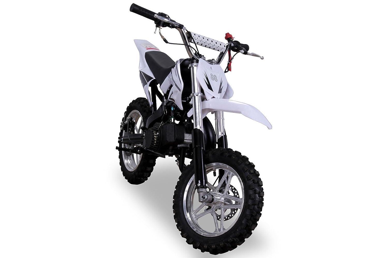 Rot Kinder Mini Crossbike Delta 49 cc 2-takt Dirt Bike Dirtbike Pocket Cross