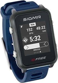iD.FREE reloj multideportivo con GPS para el aire libre y navegación, notificaciones inteligentes, Geocaching, medición de pulso en la muñeca, a prueba de agua, incl. soporte para bicicleta: Amazon.es: Deportes y aire