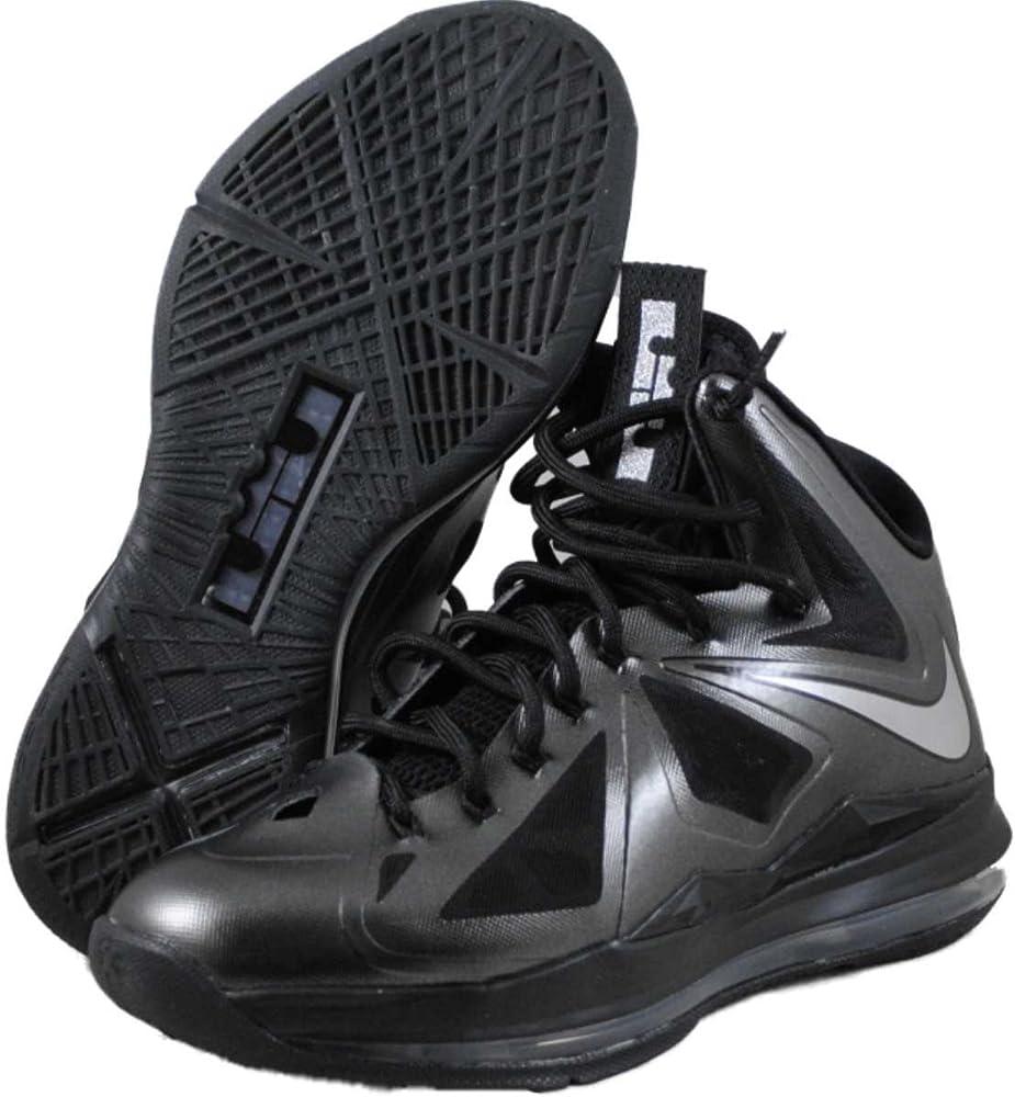 Nike Air MAX Zoom Lebron X - Zapatillas de Baloncesto, Color Negro ...
