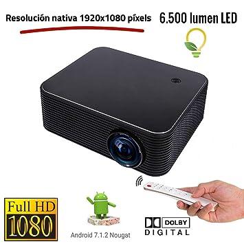 Proyector Full HD Nativo 1080P, XSAGON HL600 (1920x1080) 6.500 ...