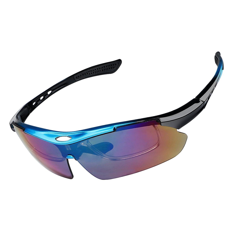 Gafas de equitación al aire libre gafas Ciclismo gafas polarizadas lente Gafas de sol antirreflectante y resistente al viento ojos Protector de seguridad ...