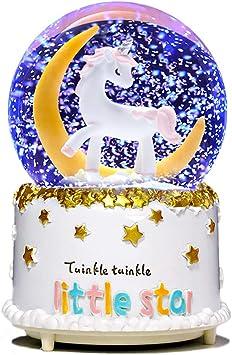 Amazon.com: Bola de nieve con diseño de unicornio de la ...