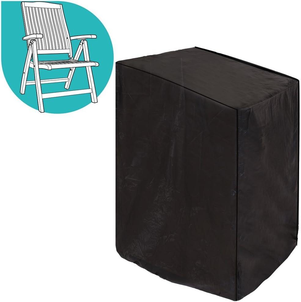 Ldk Garden Funda sill/ón de PVC Reforzado 89 X 76 X 107 cm 89x76x107 cm Negro