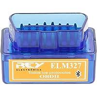 Electrónica Rey Mini ELM327 Interfaz V2.1 Bluetooth OBD-II