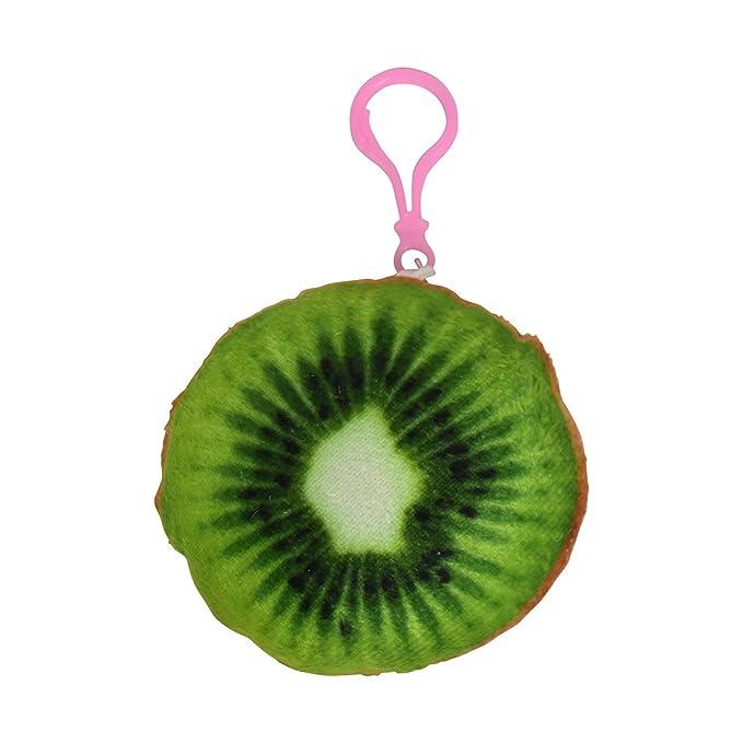 Amazon.com: Fruta mochila encanto Squishy llavero peluche ...