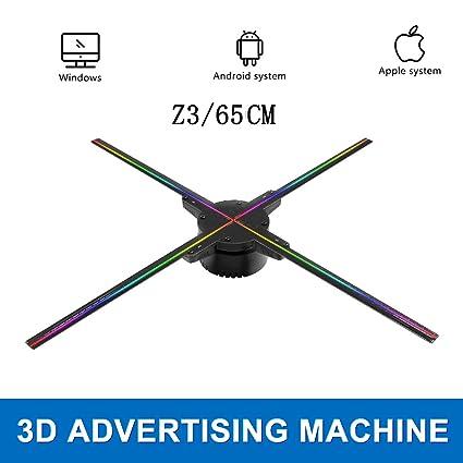 Amazon.com: Ventilador de pantalla de publicidad con ...