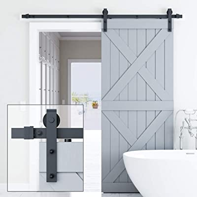 Genius Iron 6.6FT Single Barn Door Hardware