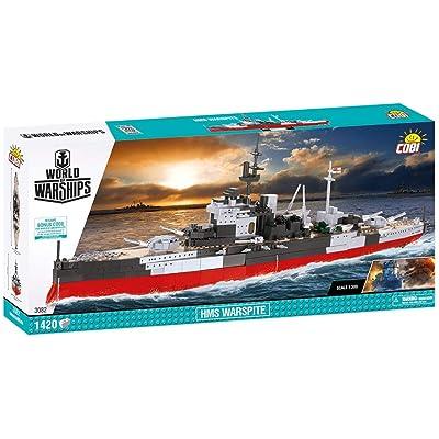 COBI World of Warships HMS Warspite: Toys & Games