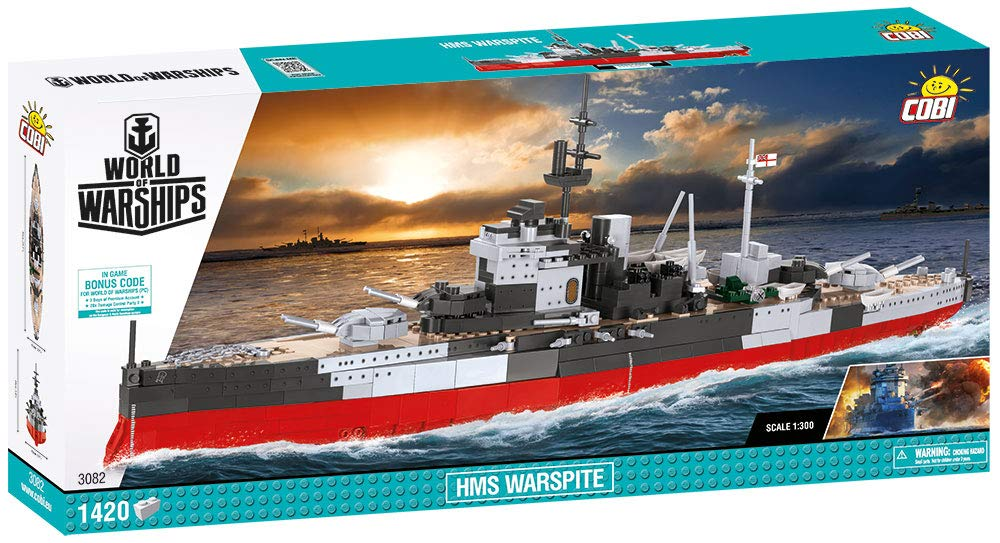 COBI World of Warships HMS Warsprite by COBI (Image #11)