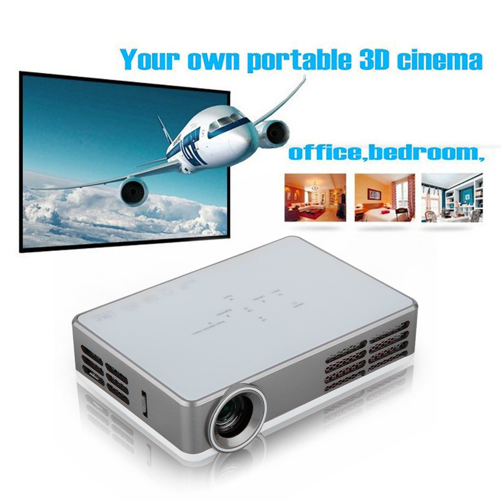 Excelvan Android 4 2 portable DLP 3D projector with: Amazon co uk