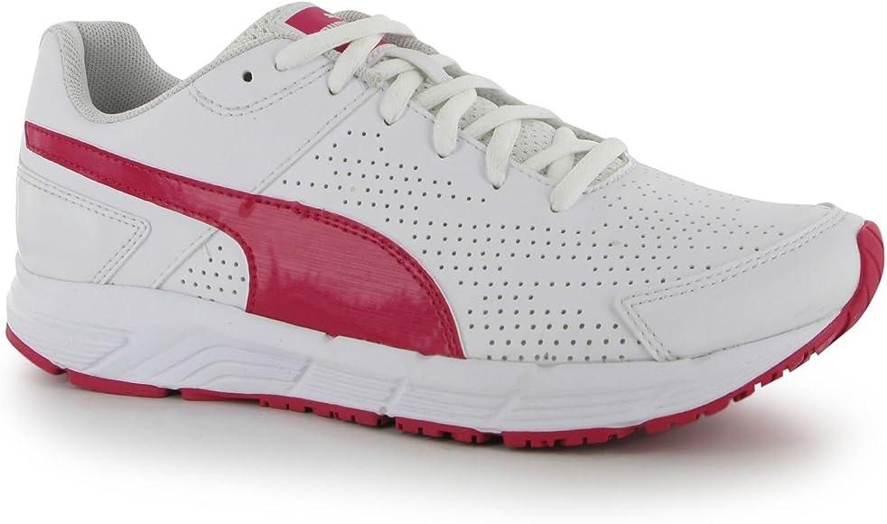 Puma para Mujer Traje de Neopreno para Mujer Sport iniciar la Secuencia de SL Cordones Zapatos de Zapatillas de Protectores de Calcetines para, Color Blanco, Talla 38: Amazon.es: Zapatos y complementos