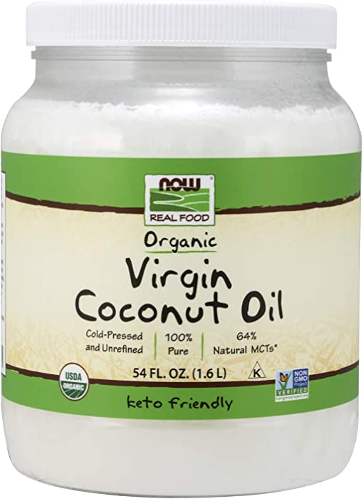 The Best Now Real Food Organic Virgin Coconut Oil