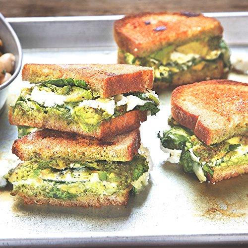 Spinach Pesto Grilled Cheese by Chef'd (Dinner for 2)