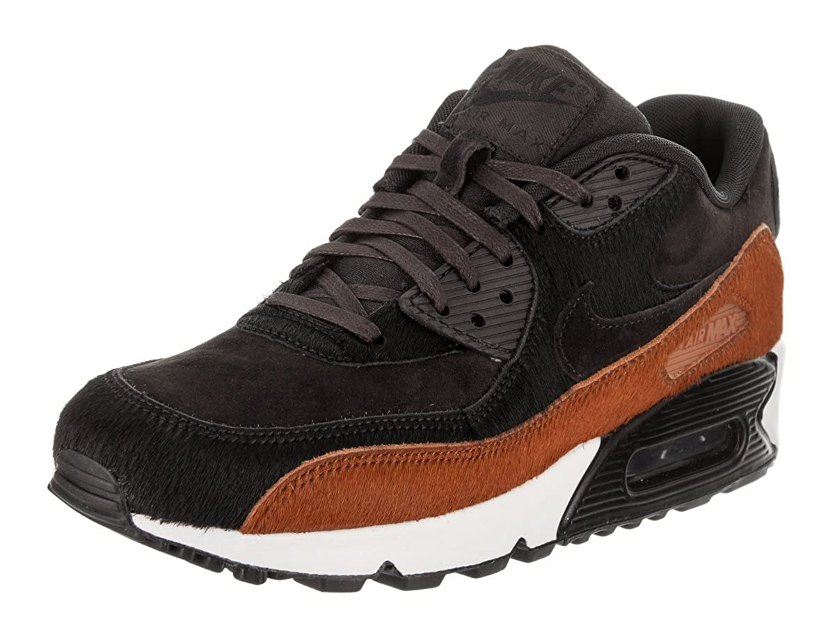 big sale 200be b2fd8 NIKE Women's Wmns Air Max 90 LX, Tar/Tar - Black - Cider ...