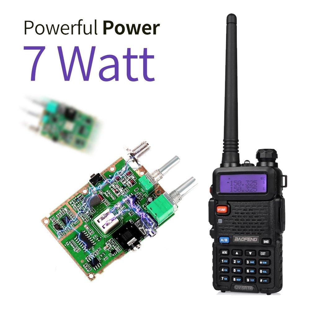 Speaker Mic RD-771 Antenna Baofeng UV-5RTP Dual Band Two Way Radio High Power Ham Radio Walkie Talkie with Programming Cable